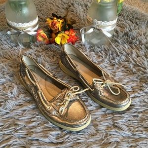 Sperry Top Sider Angelfish Boat Shoes Size 7M